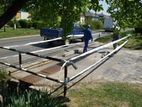 Hídjavítási munkák